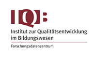 Logo Research Data Center (FDZ) of the Institute for Educational Quality Improvement