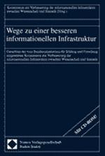 Buchcover Wege zu einer besseren informationellen Infrastruktur