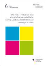 Cover des Berichts Panelsurys des RatSWD