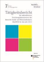 Cover des Tätigkeitsberichts 2015 der Datenzentren
