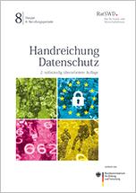 Cover Handreichung Datenschutz 2. Auflage