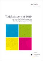 Cover Tätigkeitsbericht 2019