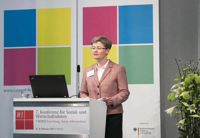 Konferenzeröffnung durch die Vorsitzende des RatSWD, Prof. Regina T. Riphahn, Ph.D.