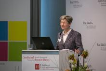 8.KSWD Eröffnung durch Prof. Regina T. Riphahn, Ph.D.