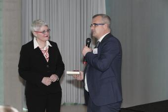 Dr. Uta Dauke und Prof. Dr. Thomas K. Bauer