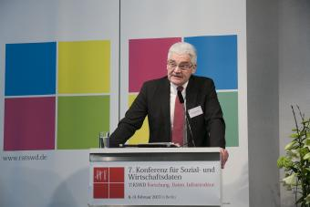 Ministerialdirektor Norbert Seitz